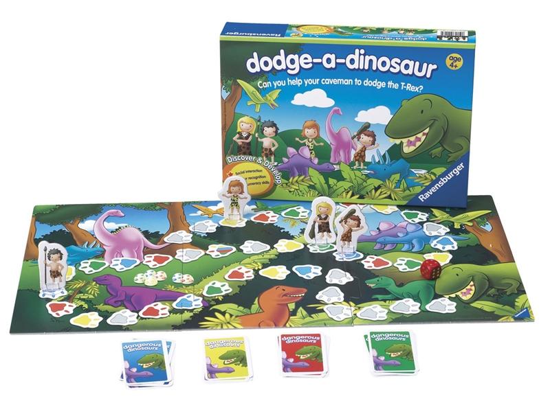 G7026: Dodge-a-Dinosaur Game