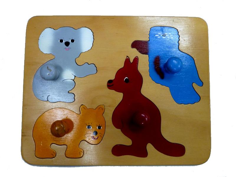 J8133: Australian Animals Inset Board