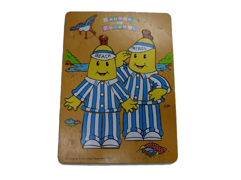 J8424: Bananas in Pyjamas Beach Patrol inset puzzle