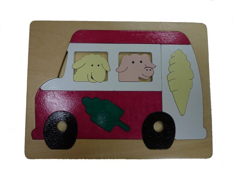 J8436: Icecream Van Puzzle