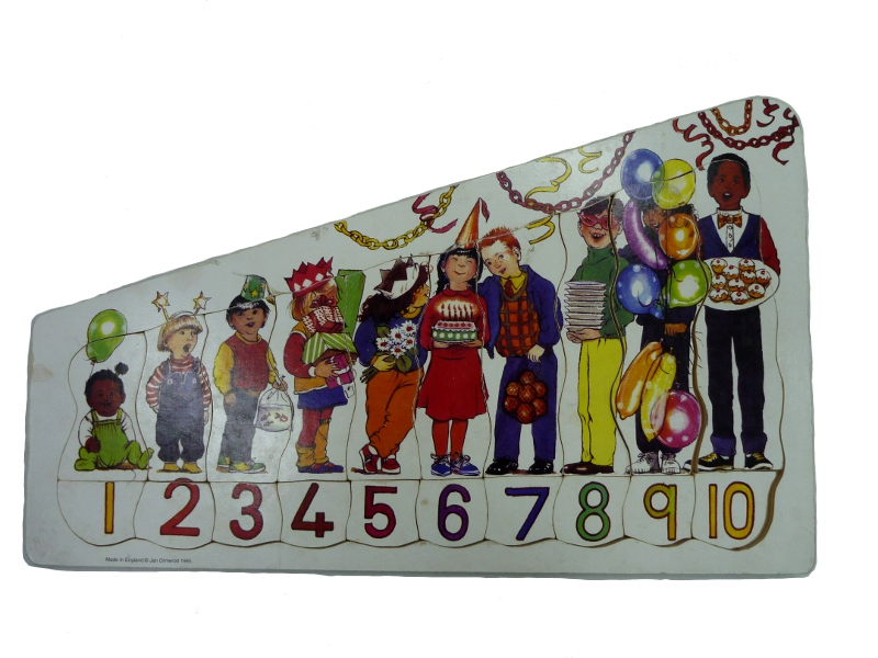 J9317: Number Party Puzzle