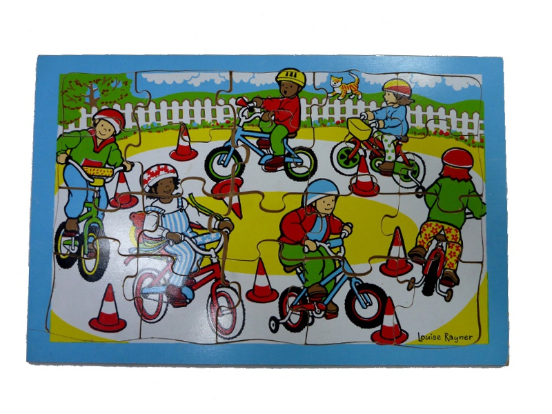 J8511: Bicycles Puzzle