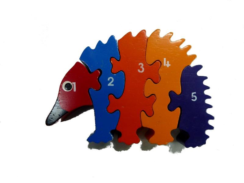 J875: Echidna Number Puzzle