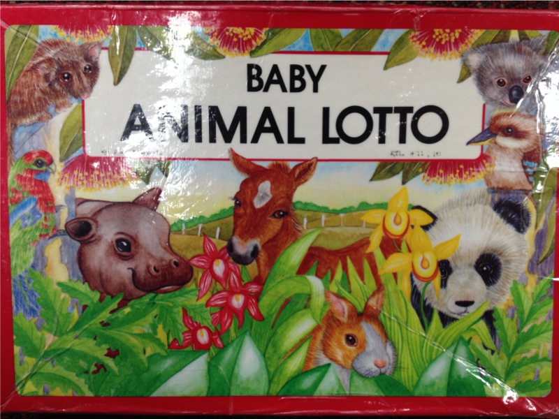 G7110: Baby Animal Lotto
