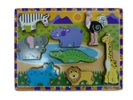 African Animal Inset Puzzle