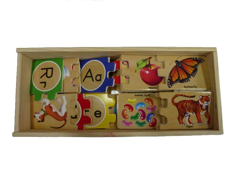 J948: matching alphabet puzzle
