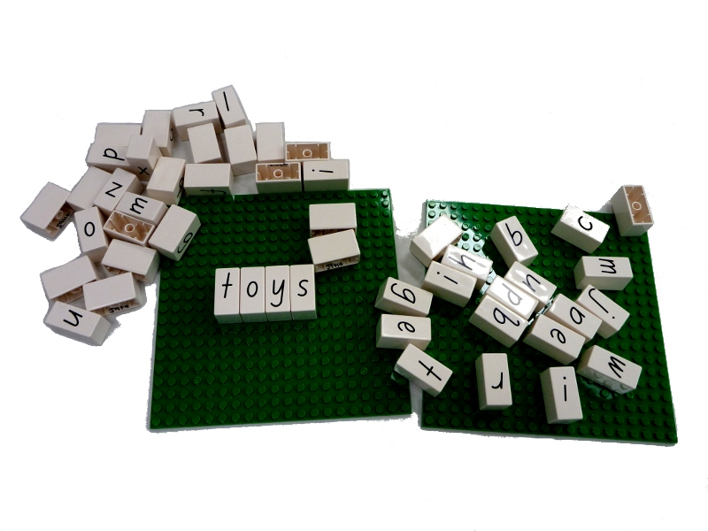 J9414: Lower Case Letters and Boards