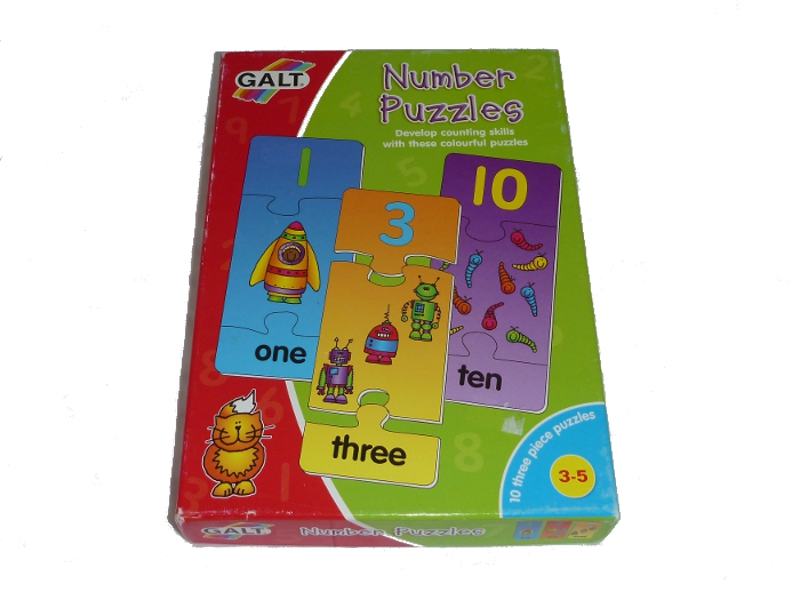 J936: Galt Number Puzzles