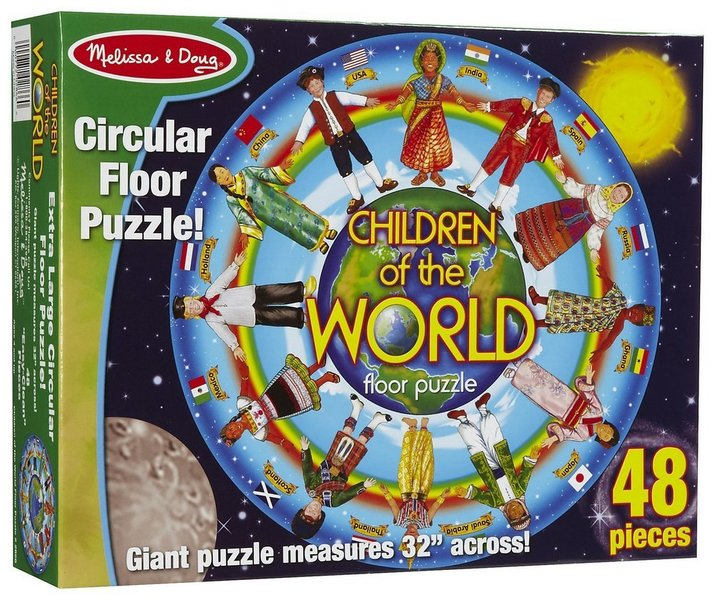 511: Children of the World Floor Puzzle