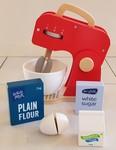 891: Wooden Food Mixer