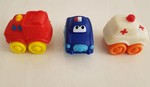212: 3 Small Emergency Vehicles