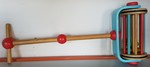 780: Wooden Mower with Bells