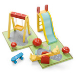 E3-310: Wooden Outdoor Playset