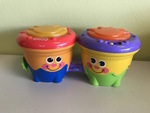 B2-096: Fisher Price Bongo Drums