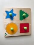 D1-296: Shape Peg Puzzle