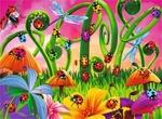 D1-328: Ladybirds in the Garden Puzzle