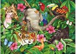 D1-334: Tropical Friends Puzzle