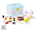E3-324: Wooden Tea Set Box