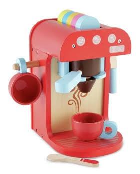E3-336: Wooden Coffee Machine