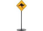 E3-377: Road Sign Kangaroo