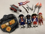 E3-281: Playmobil Pirate Play Set - 6 yrs + Only