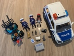 E3-334: Playmobil Police Car - 5 yrs + Only