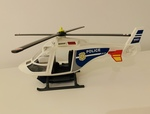 E3-389: Playmobil Police Helicopter - 5 yrs + Only