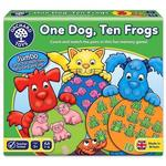 F5-078: One Dog Ten Frogs