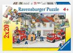 P428: Emergency - 2 x 20 piece puzzles
