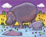 P100070D: Animal Puzzles (D)