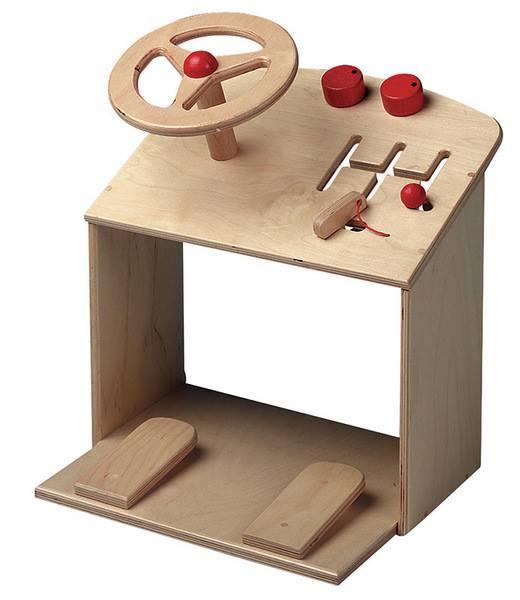 394: Wooden Steering Wheel