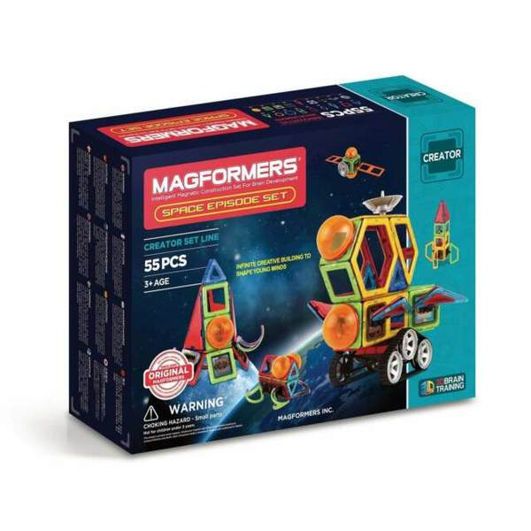 54: MAGFORMERS - SPACE EPISODE SET