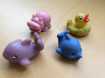 EP53: Water play toys - dolphin, shark, whale, hippo