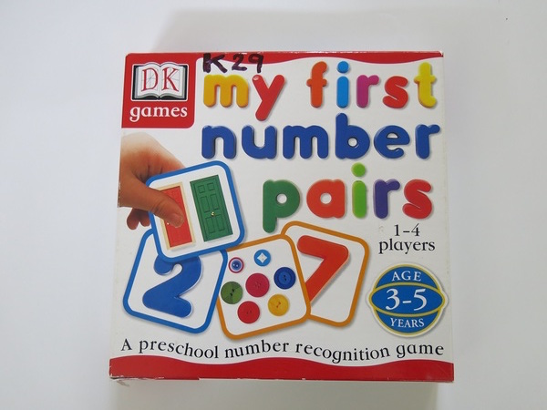 K029: MY FIRST NUMBER PAIRS