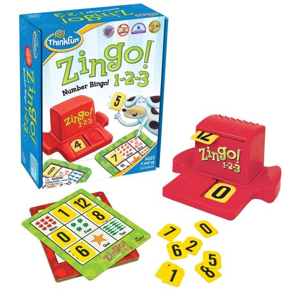 K090: ZINGO! NUMBER BINGO! 1-2-3