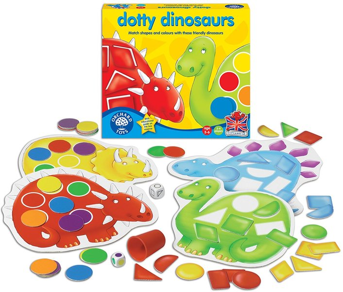 K115: DOTTY DINOSAURS GAME