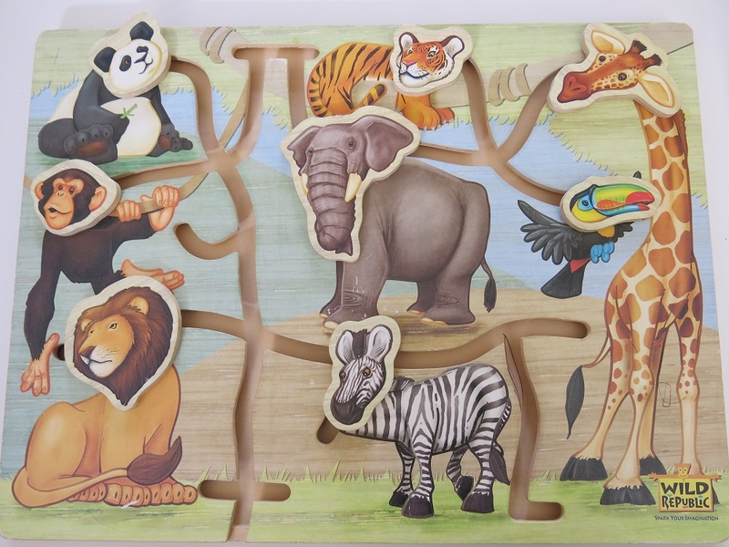 K121: ANIMAL MAZE MATCHING BOARD