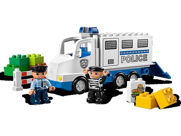 K135: DUPLO POLICE TRUCK (5680)