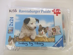 K155: PUPPY AND KITTEN PUZZLES SET OF 2