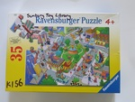 K156: BUSY CITY 35 PIECE PUZZLE