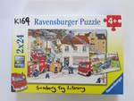 K169: FIRE BRIGADE PUZZLES SET OF 2