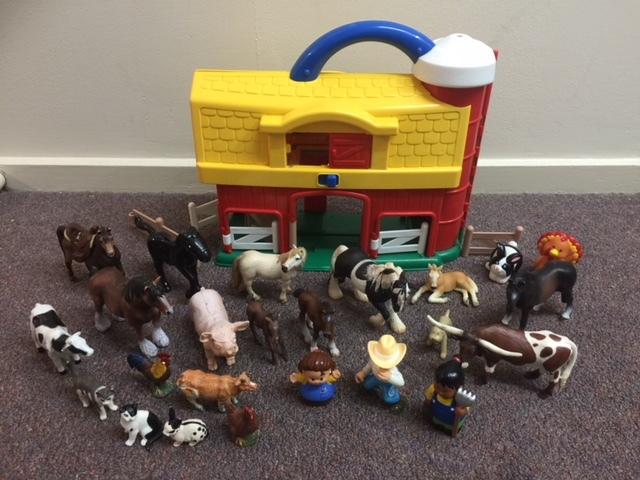 P071: CARRY A LONG FARM SET