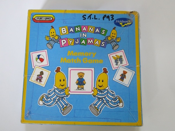 P093: BANANAS IN PJS MEMORY GAME