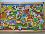 P113: FARM MAGNETIC FUN BOARD