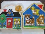 FIRST SHAPES JUMBO KNOB PUZZLES