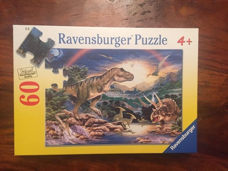 S083: DINOSAURS PUZZLE 60 PIECES