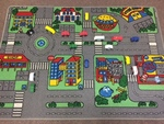 P234: COMMUNITY CARS PLAYSET AND FLOORMAT