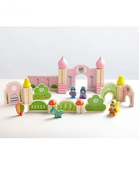P237: MY FIRST WOODEN CASTLE PLAYSET
