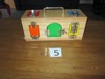 5: lock activity box