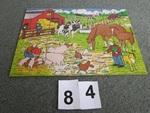 84: Wooden farm jigsaw